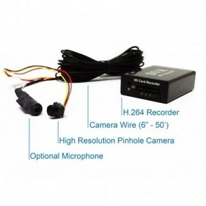 Details about Black Box DVR Surveillance Hidden Nanny Camera