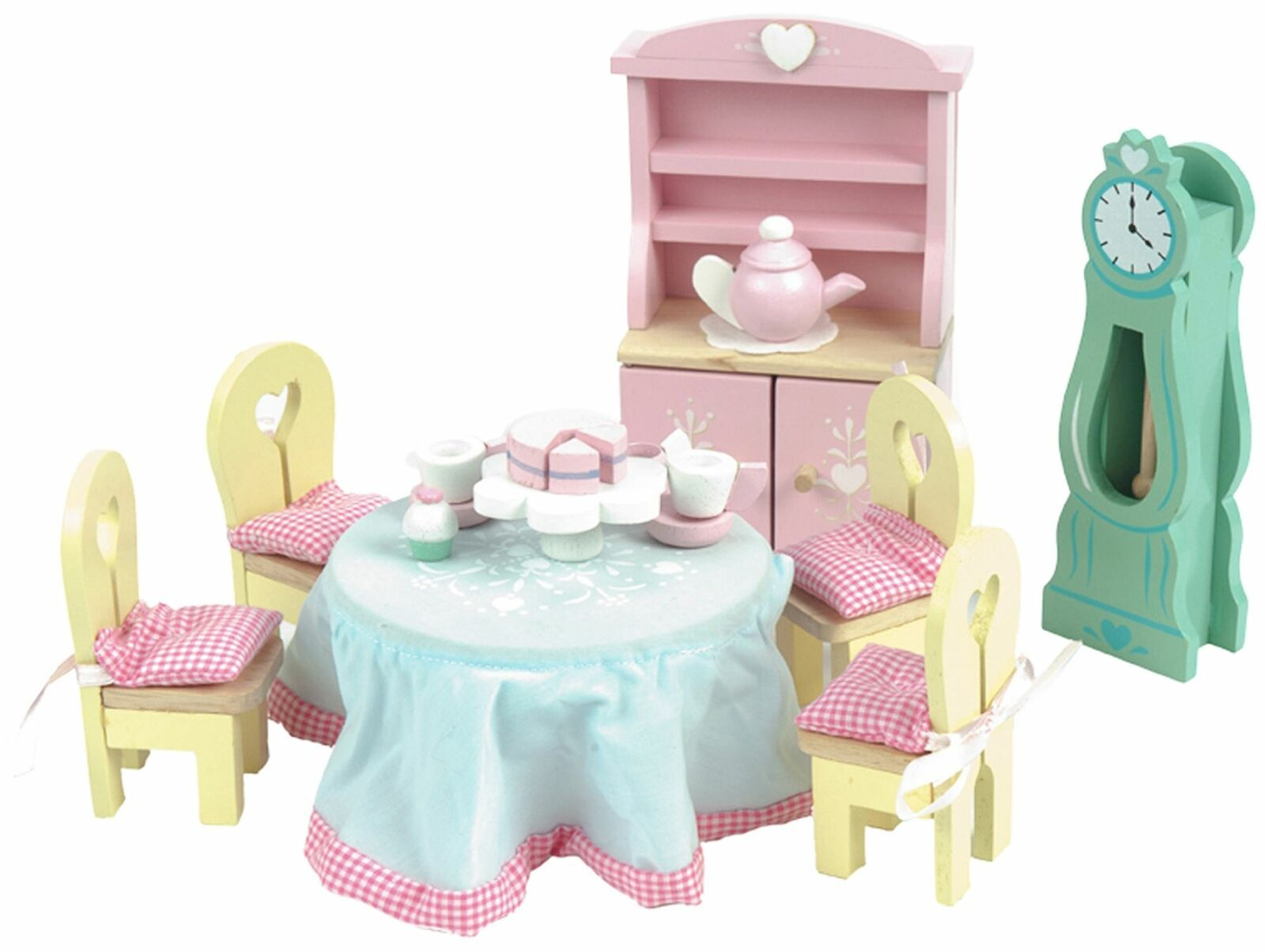 Le Toy Van DOLL HOUSE DAISYLANE DRAWING ROOM Wooden Toy BN