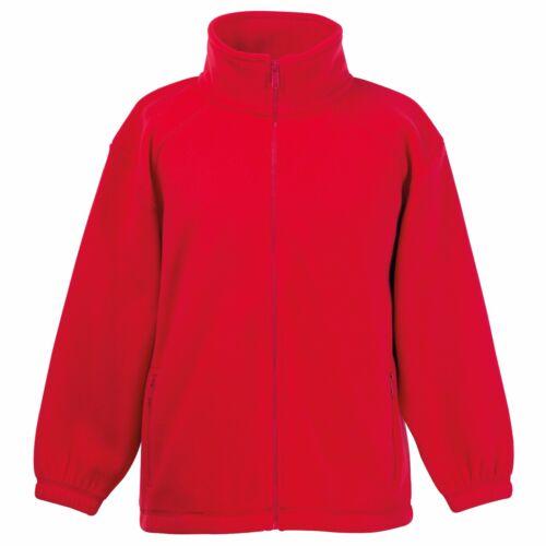 Kids Unisex Outdoor Fleece Breathable Pill Resistant Full Zip Jacket Winter Warm