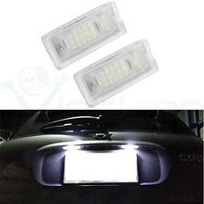 2x Lampada posteriore luce targa 18 LED luci lampade per Mini Cooper R50 R52 R53