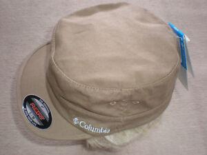 439d1631cc1 Sm Med) NWT Columbia Patrol Cap TAN Unisex Hat FLEX FIT Gear ...