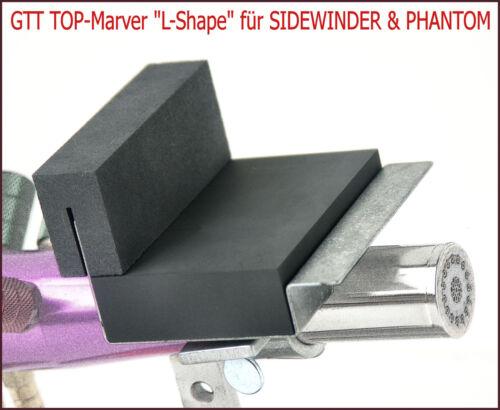 Vorwärmplatte für Sidewinder /& Phantom in L-Form GTT Top-Marver L-SHAPE