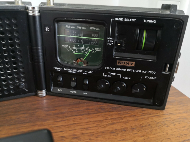 AM/FM radio, Sony, ICF - 7800, God, Retro, vintage…