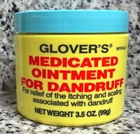Glovers Medicated Ointment For Dandruff 3.5 Oz -made In Usa - Fast Shipping