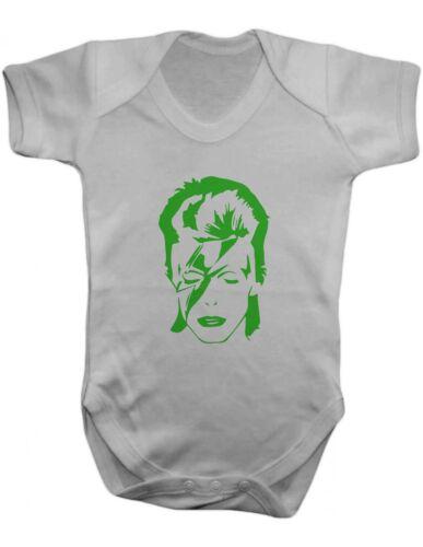 100/% coton ange baby body vest David bowie ziggy stardust