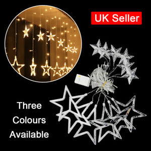 LED-Star-Curtains-String-Fairy-Light-Window-Decor-Lamp-for-Christmas-Xmas-Party