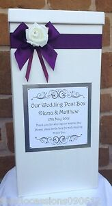 Image Is Loading Wedding Card Post Box Favours Gifts