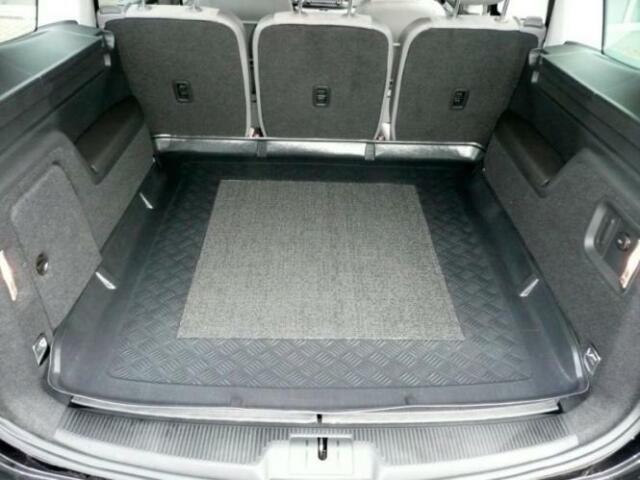 Kofferraumwanne Kofferraummatte für VW Sharan 7N ab 9/2010 - mit Antirutschmatte