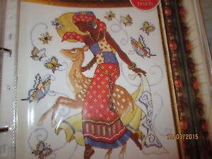 """""""amazing Africa"""" Par Lesley Teare Cross Stitch Chart-afficher Le Titre D'origine"""