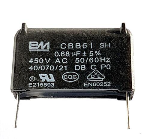 CBB61 motor fan start capacitor BM QA 0.45 0.68,1uF 300V-450V UKseller–refb874
