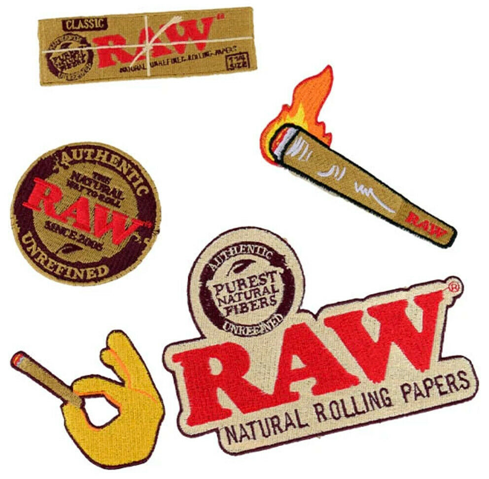 1x RAW Smokers Patch Collection - ORIGINAL - OFFICIAL