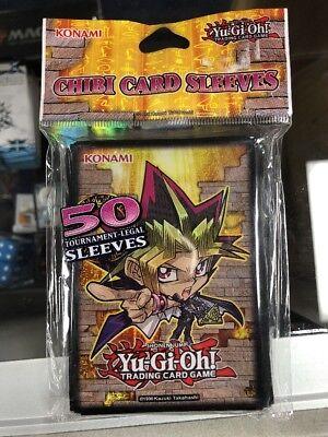 Konami Official Yu-Gi-Oh Chibi Yami Yugi Card Sleeve Protectors 100 ct free ship