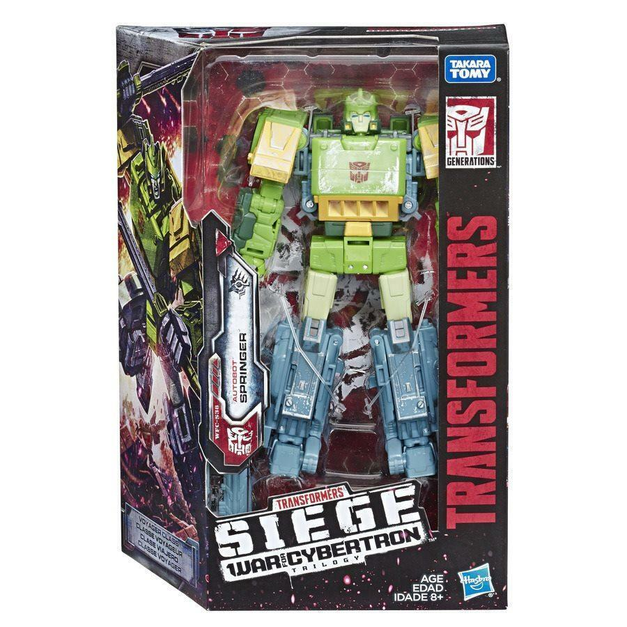 Transformers Hasbro War For Cybertron Siege Voyager Springer Brand New