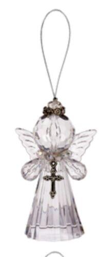 Ganz Crystal Expressions Zinc Silver Crown Ornament