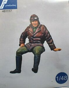 1-48-WWI-pilot-exiting-PJ-Production-resin-Sopwith-Fokker-Albatros-SEa-Spad