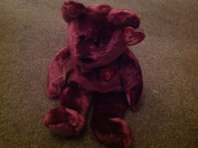 Ty beanie buddy 2000 signature bear bnwt made in China