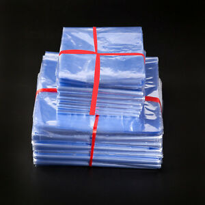 Image Is Loading Pvc Heat Shrinkable Packaging Bags Clear Transpa Pouches