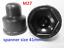 M5-M6-M8-M10-M12-M14-M16-M18-M20-M-Bolt-Nut-Domed-Cover-Caps-Plastic-Black miniatuur 2