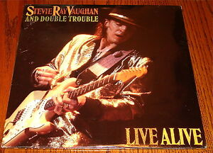Stevie Ray Vaughan And Double Trouble Live Alive 2 Lp Set