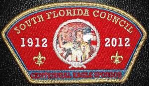 SOUTH-FLORIDA-COUNCIL-265-OA-2012-BSA-CENTENNIAL-EAGLE-SCOUT-SPONSOR-GMY-50-MADE
