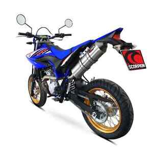 sale yamaha wr 125 r wr125r scorpion performance exhaust. Black Bedroom Furniture Sets. Home Design Ideas