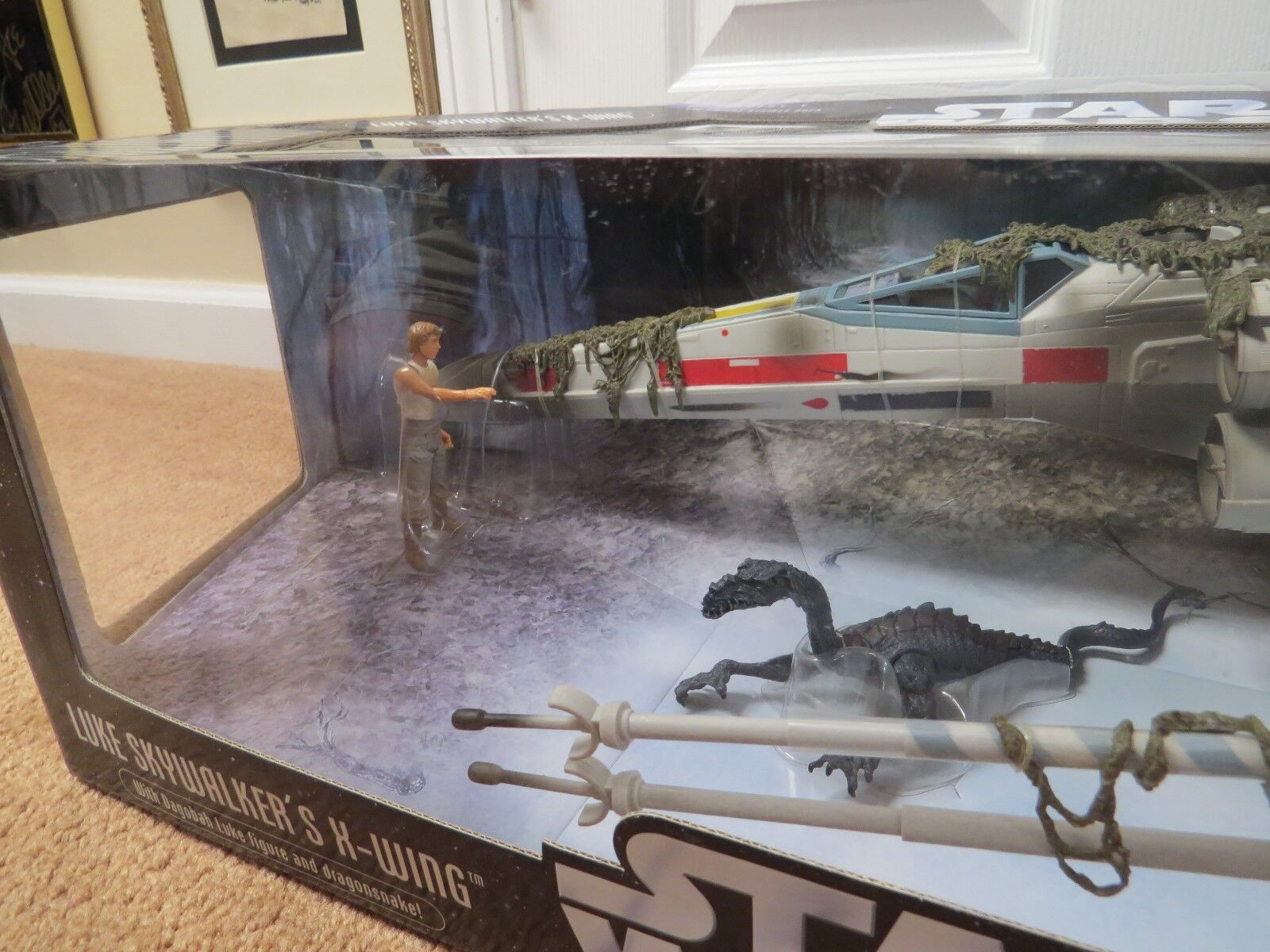 estrella guerras guerras guerras LUKE cieloWALKER'S X-WING FIGHTER SAGA COLLECTION MISB 884ab9
