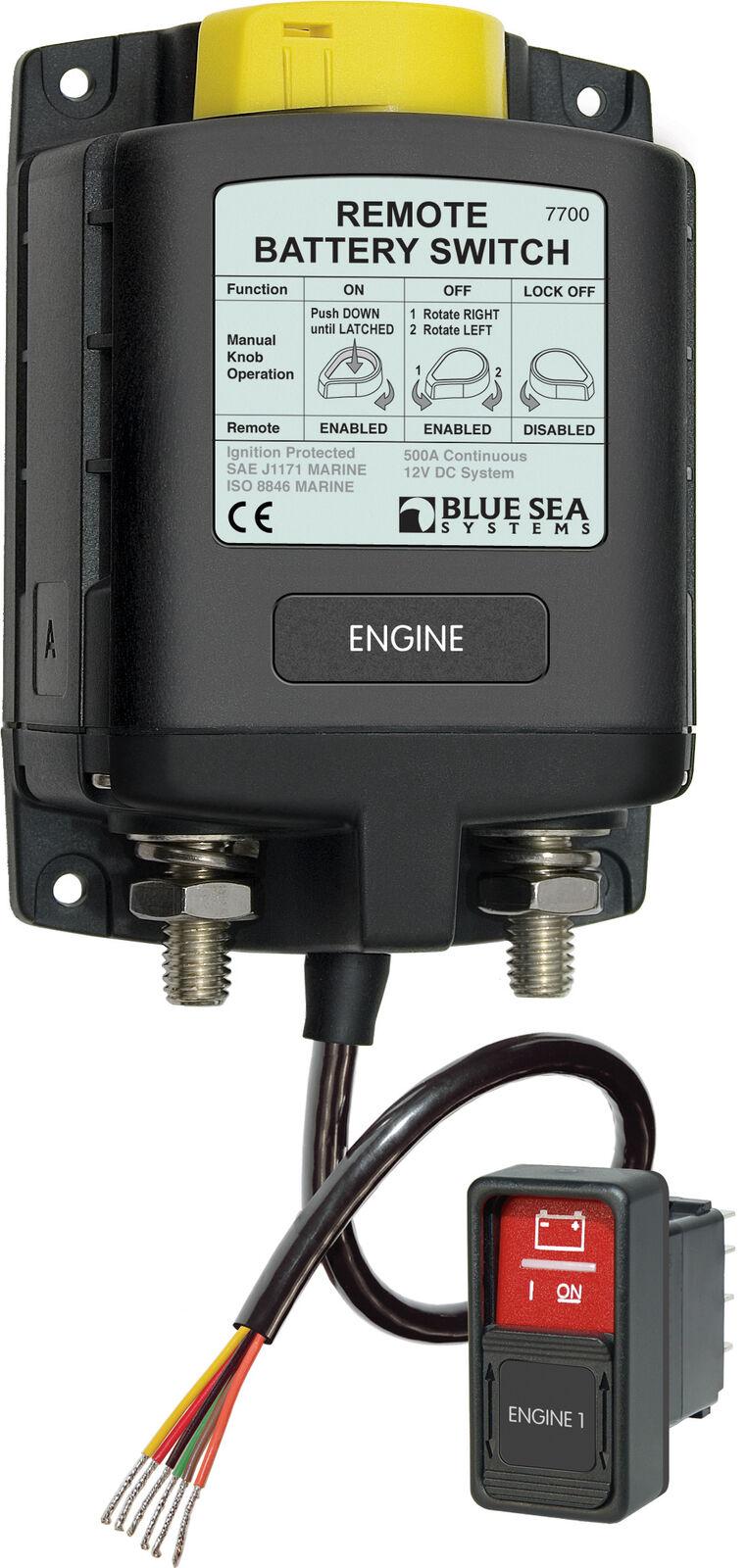 Blau SEA - - Fernsteuerbarer Batterie-Hauptschalter - - 12V e27dbf