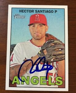 HECTOR-SANTIAGO-2016-TOPPS-HERITAGE-AUTOGRAPHED-SIGNED-AUTO-BASEBALL-CARD-247