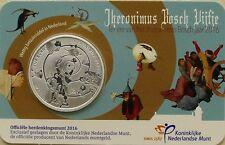 5 EURO PAYS-BAS 2016 UNC - 500EME ANNIVERSAIRE DE LA MORT DE JEROME BOSCH