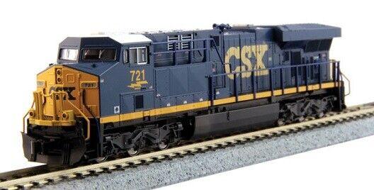 Kato Gemini exclusivo ES44AC Alimentación-estándar DC CSX Transportation Escala N En Caja Como Nuevo