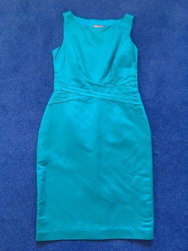 nuovo taglia zecca blu da donna Abito 10 UK monsoon indossato mai turchese di t6WRpwnqx