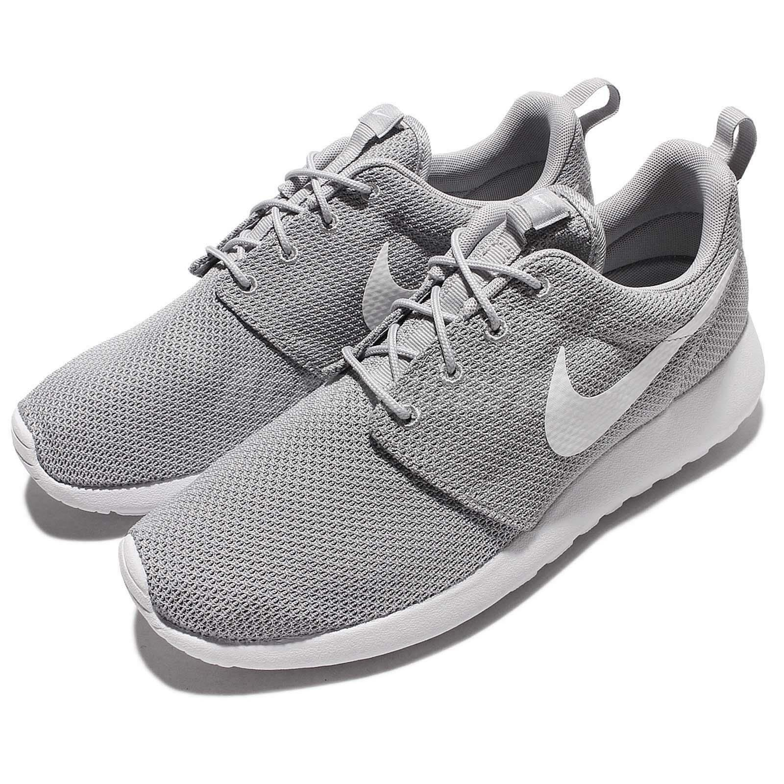 Nike Rosherun Roshe One Run Grey White Men Running shoes Sneakers 511881-023
