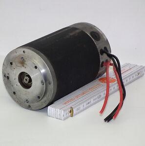 Dc motor 450 watt 24 volt fahrantrieb ohne getriebe 2800 u for 12 volt 50 watt dc motor