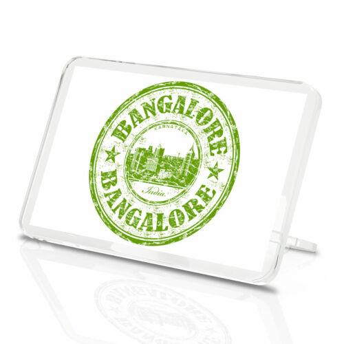 Awesome Bangalore India Vinyl Classic Fridge Magnet Kitchen Cool Gift #5810