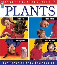 Starting with Science: Plants Paperback 1998 Ages 5-9 Experiments Activities