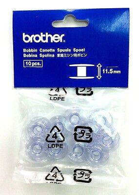 Genuine Brother Bobbins 11.5mm (pack of 10) SFB / SA156 / XA5539151