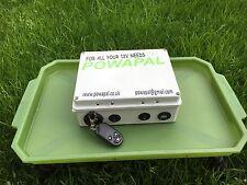 powapal mk3r 12v portable power station for carp fishing bivvy power pack mobile