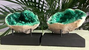 Large-Geode-Crystal-Quartz-Specimen-Green-Geode-Pair-Morocco-Split-Geode-Halves