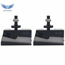 2pcs Bxa 7 250 207 10 15 Quick Change Tool Post Universal Parting Blade Holder