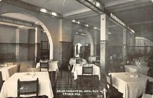 Details about RPPC Salon Comedor Del Hotel Ruiz, Oaxaca, Mexico ca 1940s  Vintage Postcard