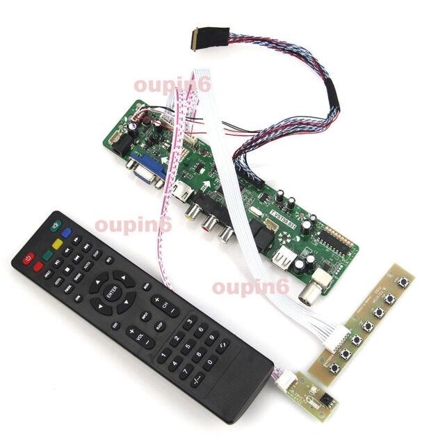 2018 LCD LED controller kit TV HDMI VGA CVBS for LTN173KT01 / LP173WD1/B173RW01