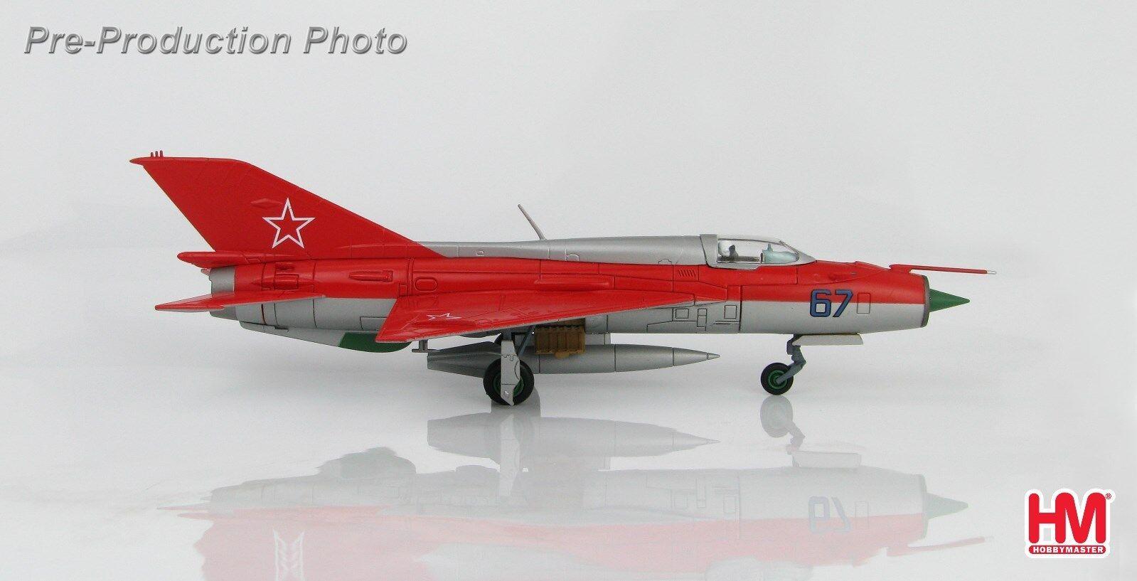 Hobby - meister ha0189, mig-21pfm  kunstflug - team , nr. 67, der sowjetischen luftwaffe, kubink