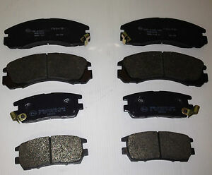MITSUBISHI-SHOGUN-PAJERO-FRONT-AND-REAR-BRAKE-PADS-BRAND-NEW-OE-QUALITY-OMEGA