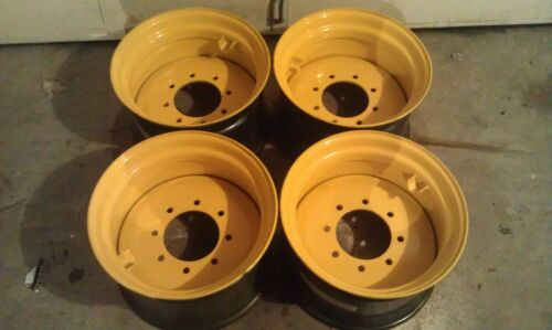 for New Holland,John Deere 4 NEW HD 17.5X10.5X8 Wheels//Rims for 14-17.5 tires