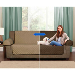 Image Is Loading 3 Seater Sofa Cover Set Reversible Covers Pet