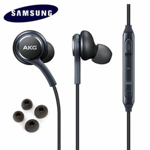 Samsung AKG Headphones Auriculares EO-IG955 para Galaxy S8 S9+ Note 8 9 S7 S6