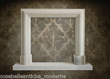 Empire Fireplace Leccese Stone Camino in Pietra Moderm Style CLASSIC HOME DESIGN