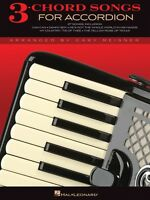 3-chord Songs For Accordion Accordion Book 000312104