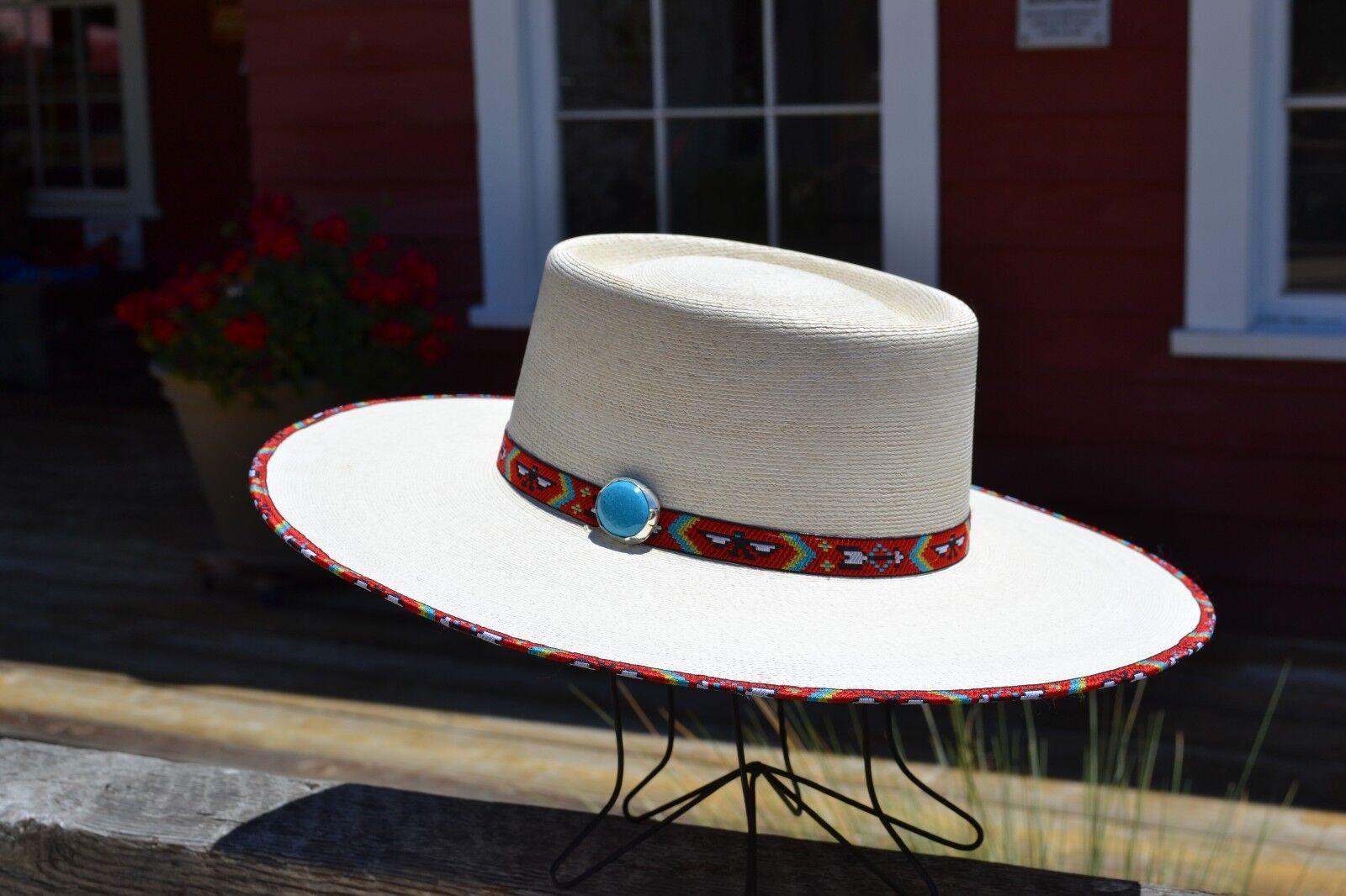 Atwood Hat Company - Santa Fe Nevada 15X Palma Balestra Cowboy Vaquero Cowboy Balestra - 10.2cm 64a8a9