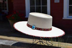 08d5fc509 Atwood Hat Company - Santa Fe Nevada 15X Palm Leaf Vaquero Cowboy ...